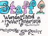 Wonderland Staff Laminate